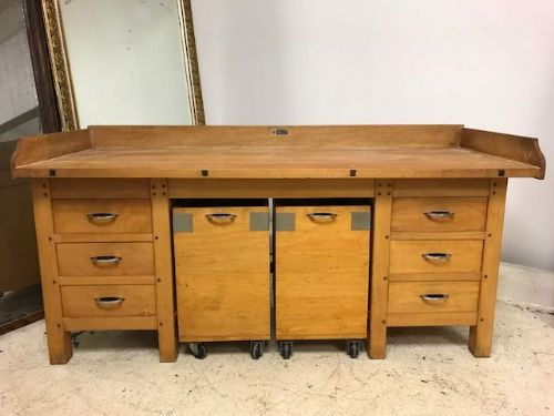 French Patisserie Prep Table  / Sideboard / Work Island - a101